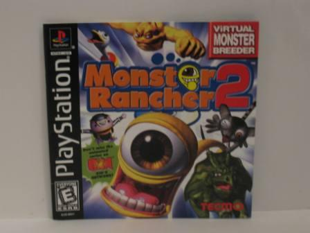Monster Rancher 2 - PS1 Manual